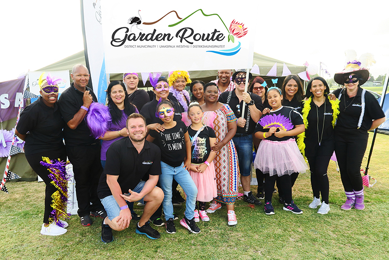Garden Route District Municipality's CANSA Relay for Life supporters