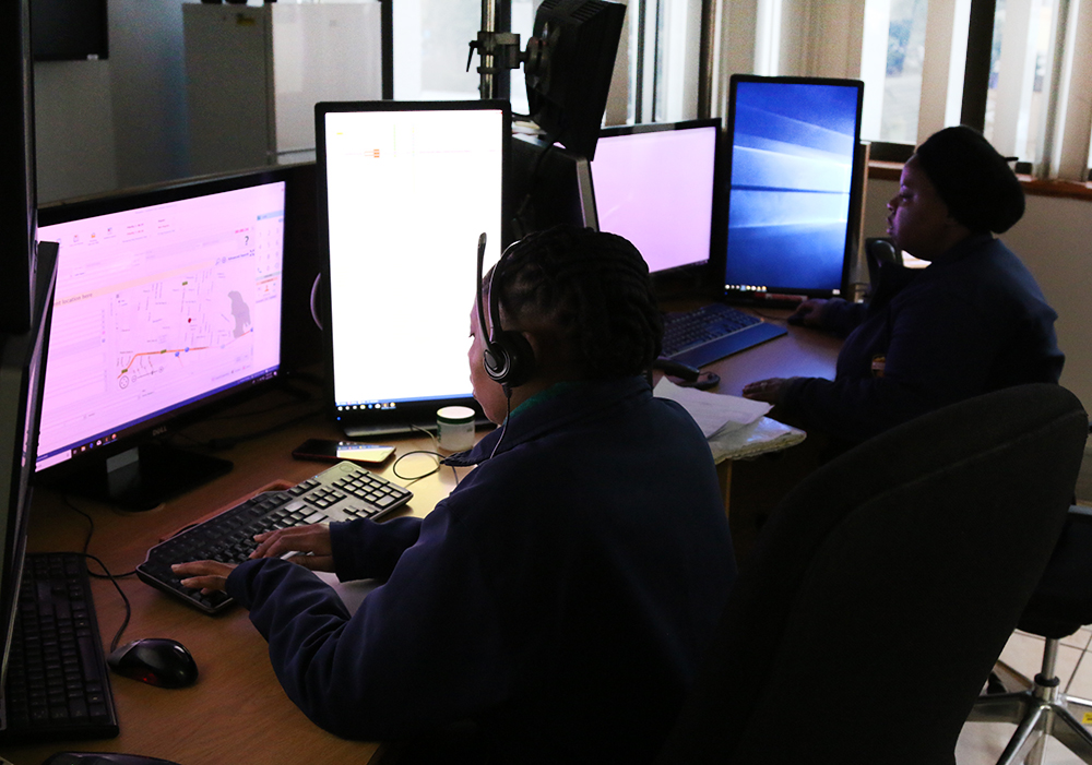 Emergency Call Centre Operators working 24/7, 365 days a year to serve communities of the Garden Route.