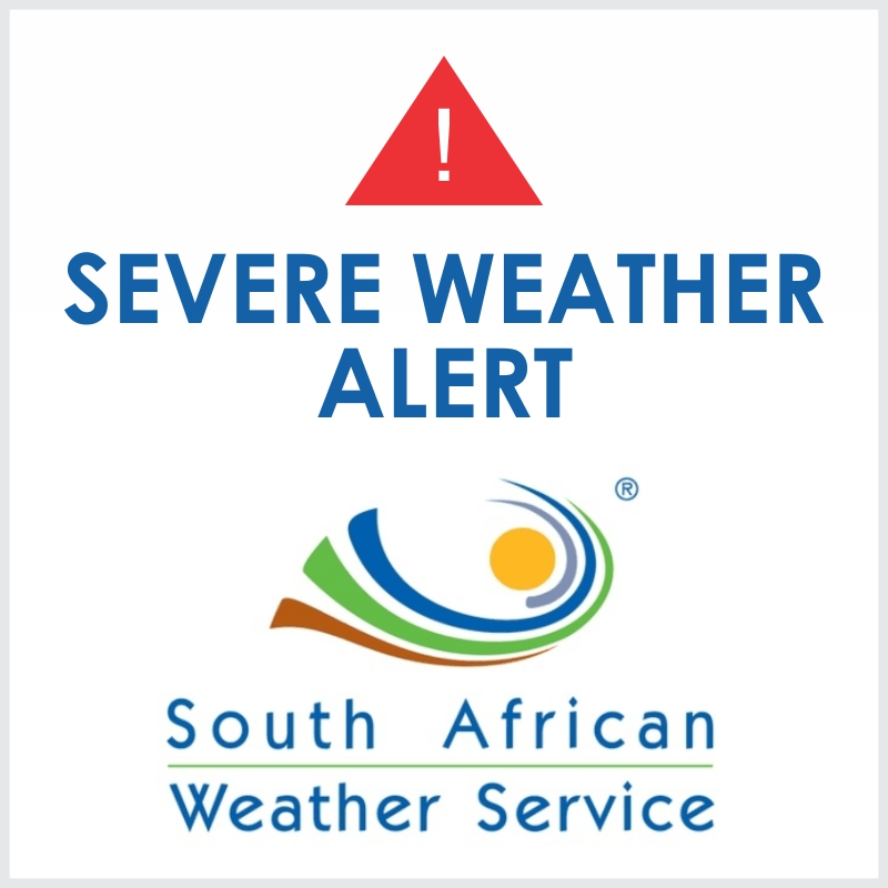 South African Weather Service Update - Higher sea levels