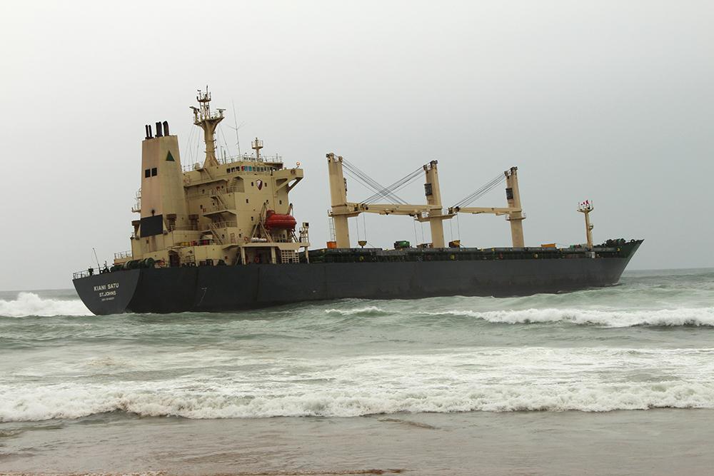 Oil Spill near Knysna