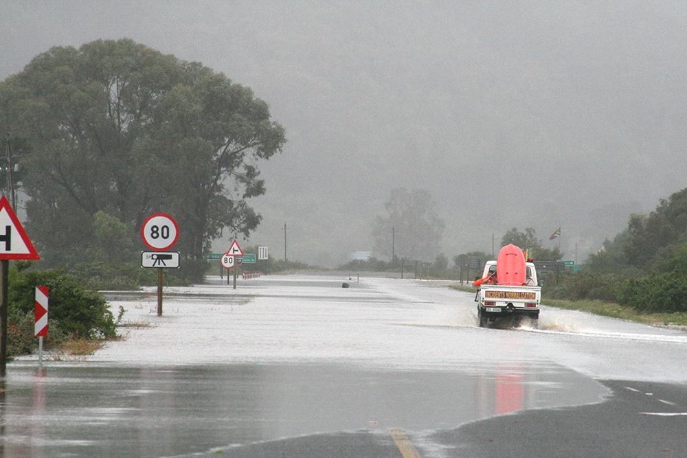 Floods in the Garden Route